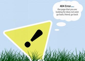 Креативные страницы 404. Вариант номер три