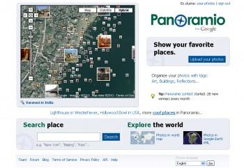 Сервис Panoramio от Google.com