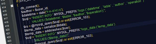 Сериализация данных в PHP